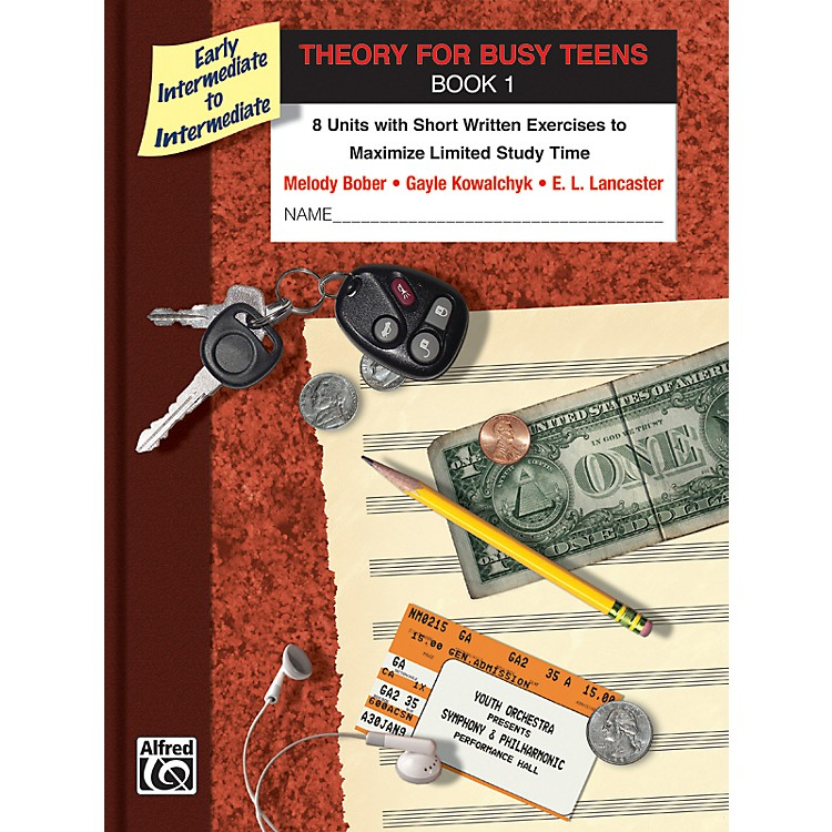 AlfredTheory for Busy Teens Book 1
