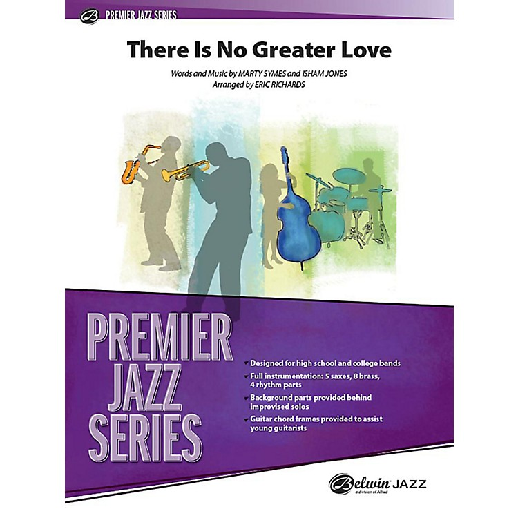 Alfred There Is No Greater Love Jazz Band Grade 5 Set
