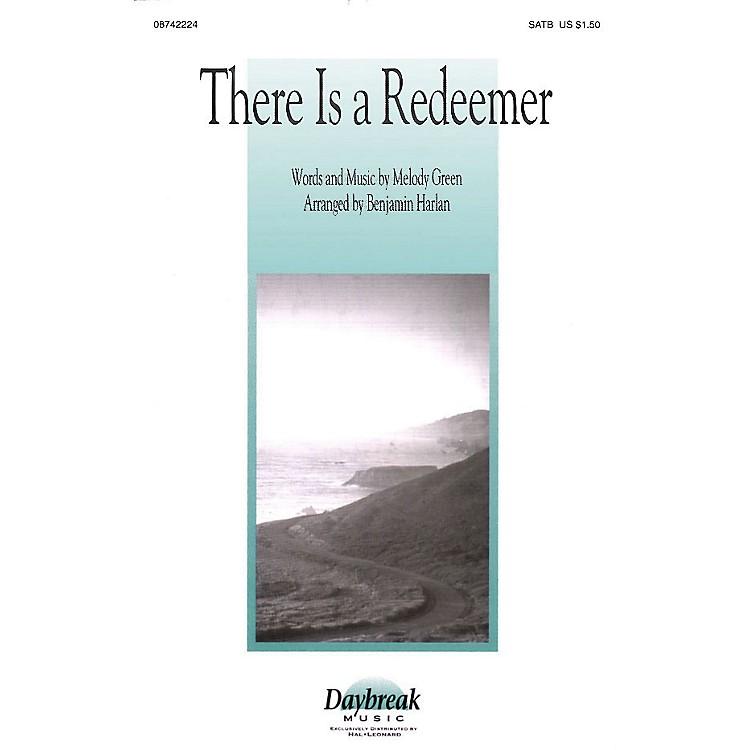 Daybreak MusicThere Is a Redeemer SATB arranged by Benjamin Harlan