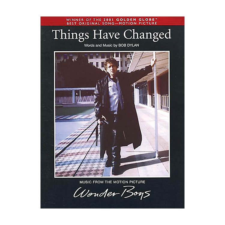 Music SalesThings Have Changed Music Sales America Series Performed by Bob Dylan
