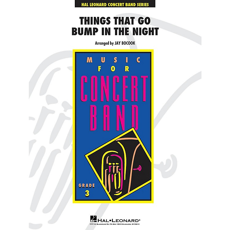 Hal LeonardThings That Go Bump In The Night - Young Concert Band Level 3 arranged by Jay Bocook