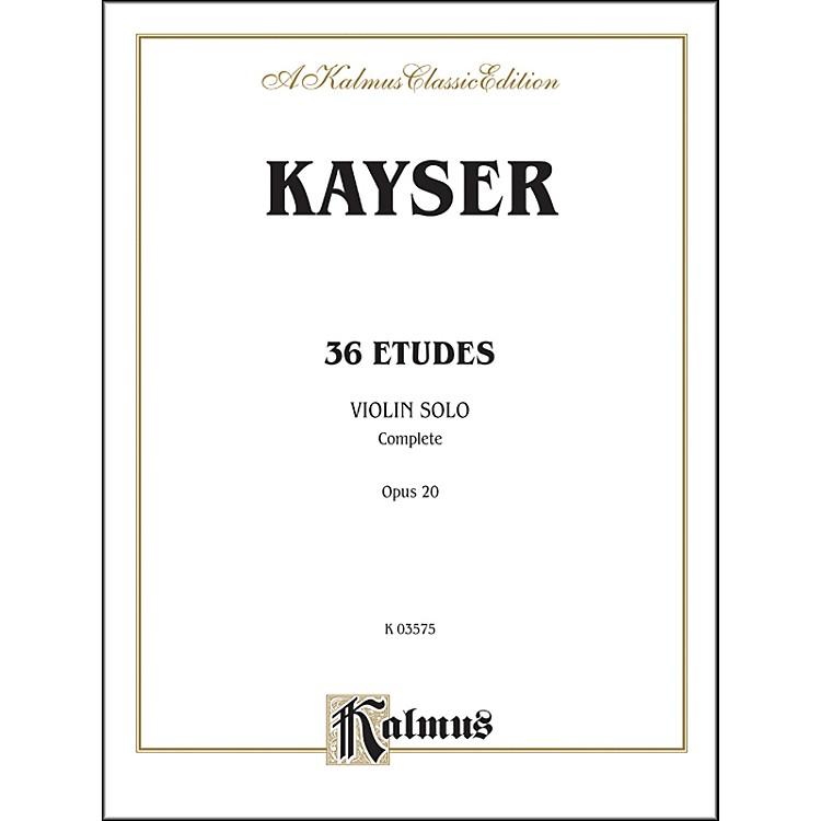 AlfredThirty-six Etudes Op. 20