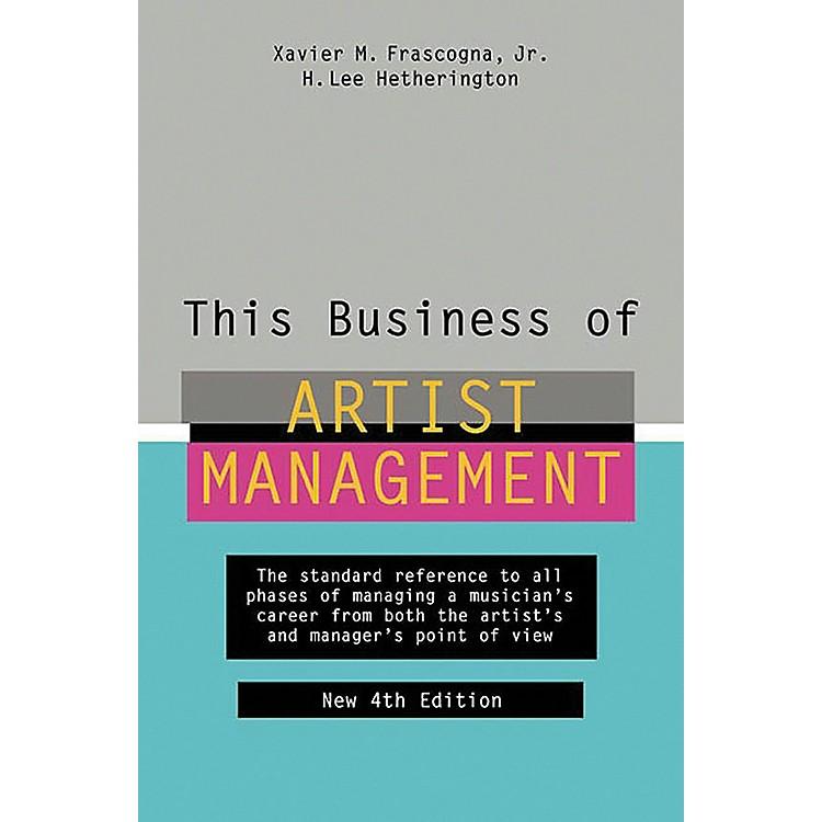 Watson-GuptillThis Business of Artist Management - 4th Edition Book