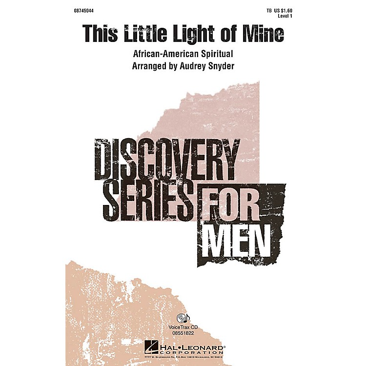 Hal Leonard This Little Light of Mine VoiceTrax CD Arranged by Audrey Snyder