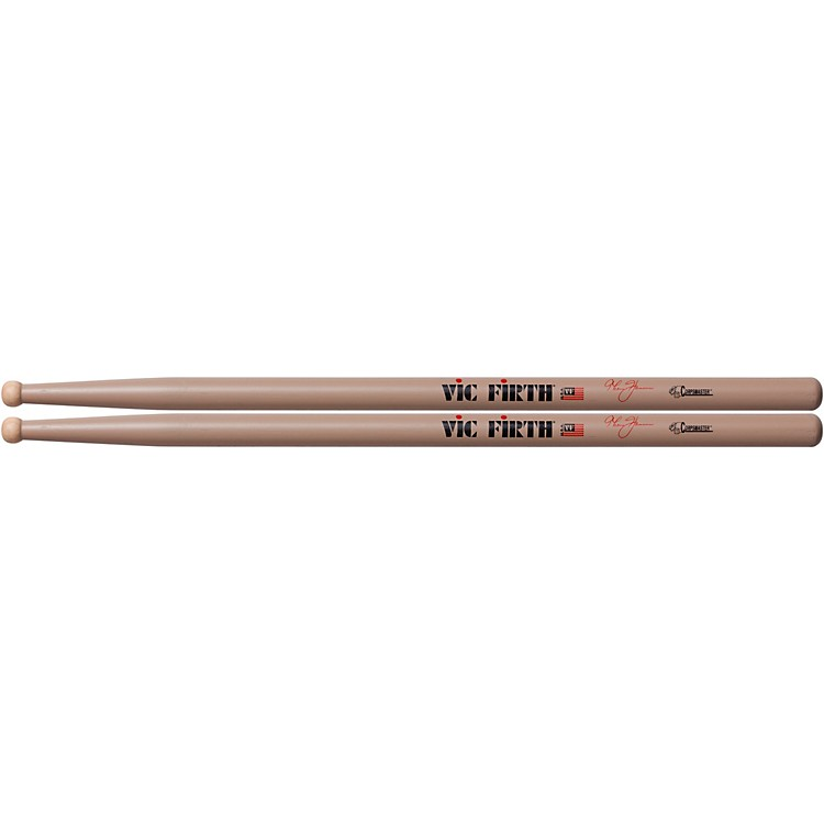 Vic Firth Thom Hannum Corpsmaster Marching Drumsticks Wood