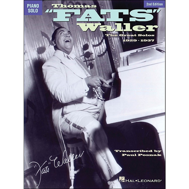 Hal LeonardThomas Fats Waller - The Great Solos 1929-1941 arranged for piano solo