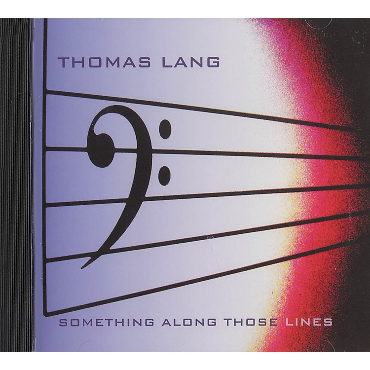 Hudson Music Thomas Lang Something Along Those Lines CD