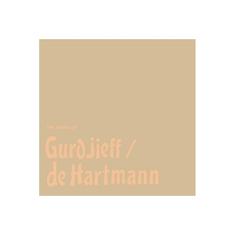 AllianceThomas de Hartmann - Music Of Gurdjieff / De Hartmann