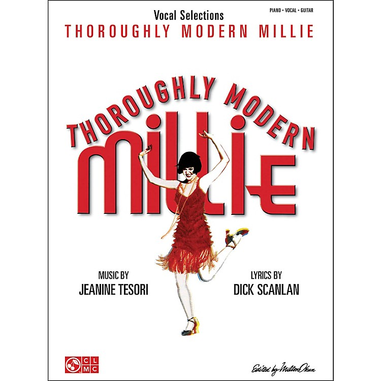Cherry Lane Thoroughly Modern Millie Vocal Selections arranged for piano, vocal, and guitar (P/V/G)