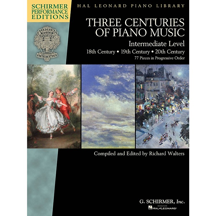 G. Schirmer Three Centuries of Piano Music: 18th, 19th & 20th Centuries Schirmer Performance Editions Softcover