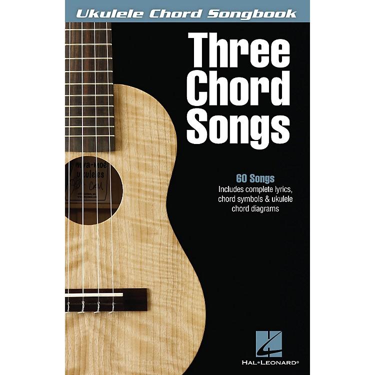 Hal LeonardThree Chord Songs Ukulele Chord Songbook