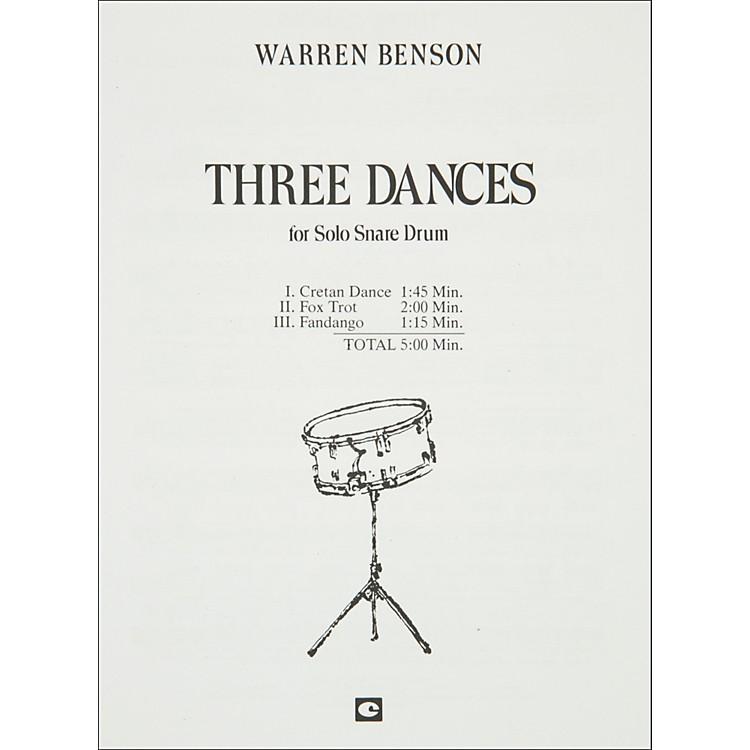 Hal LeonardThree Dances for Solo Snare Drum