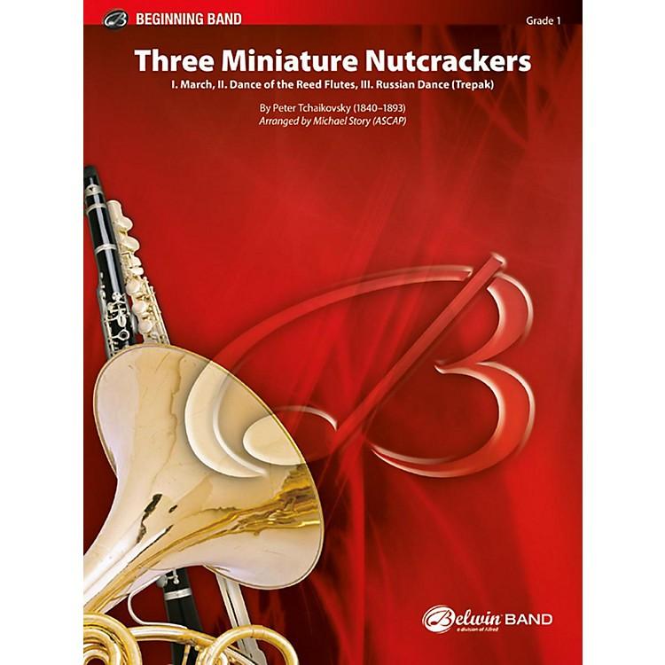 BELWINThree Miniature Nutcrackers - Grade 1 (Very Easy)