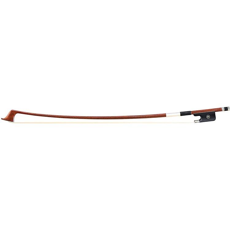 ArtinoThree Star Wood Veneer Carbon Fiber French Bass Bow3/4Round