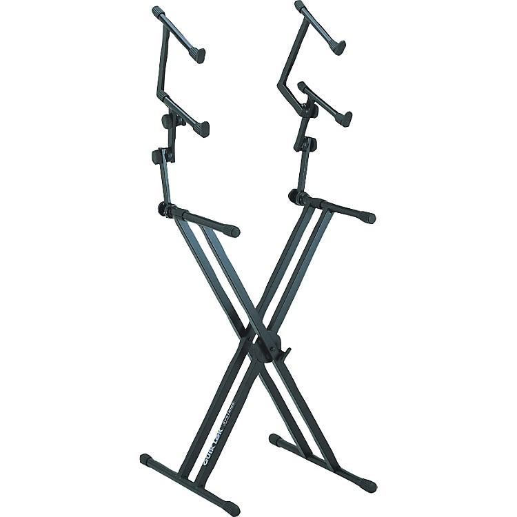 Quik-LokThree Tier Heavy Duty X Keyboard Stand