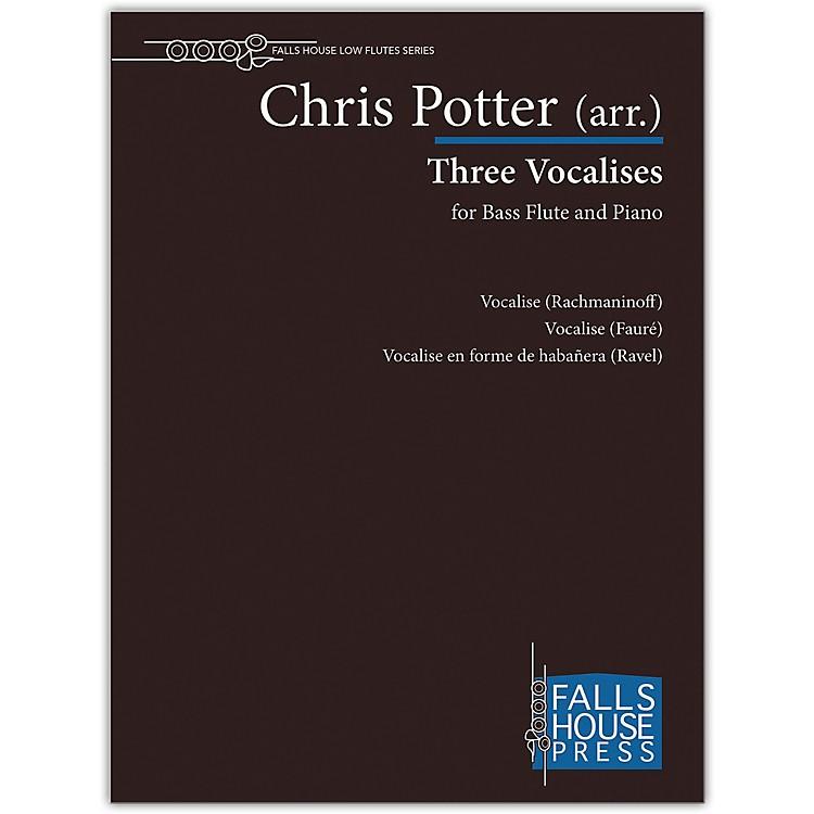 Carl FischerThree Vocalises-Bass Fl & Pno