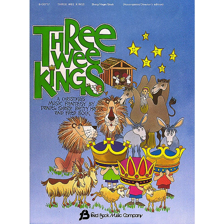 Fred Bock MusicThree Wee Kings (Director's Edition) shows all parts composed by Daniel Sharp
