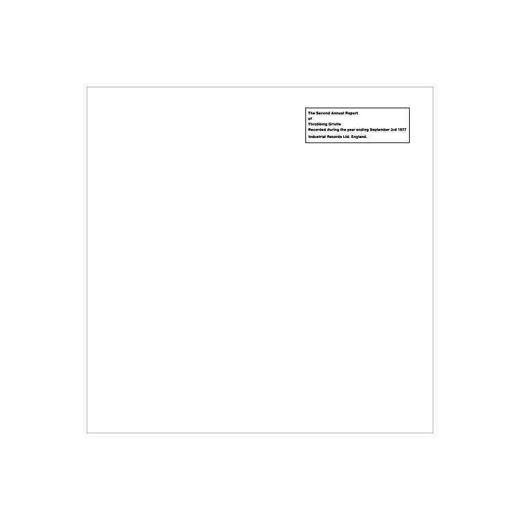 AllianceThrobbing Gristle - The Second Annual Report Of Throbbing Gristle