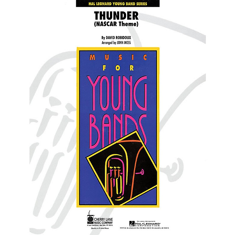 Cherry LaneThunder (NASCAR Theme) - Young Concert Band Level 3 by John Moss