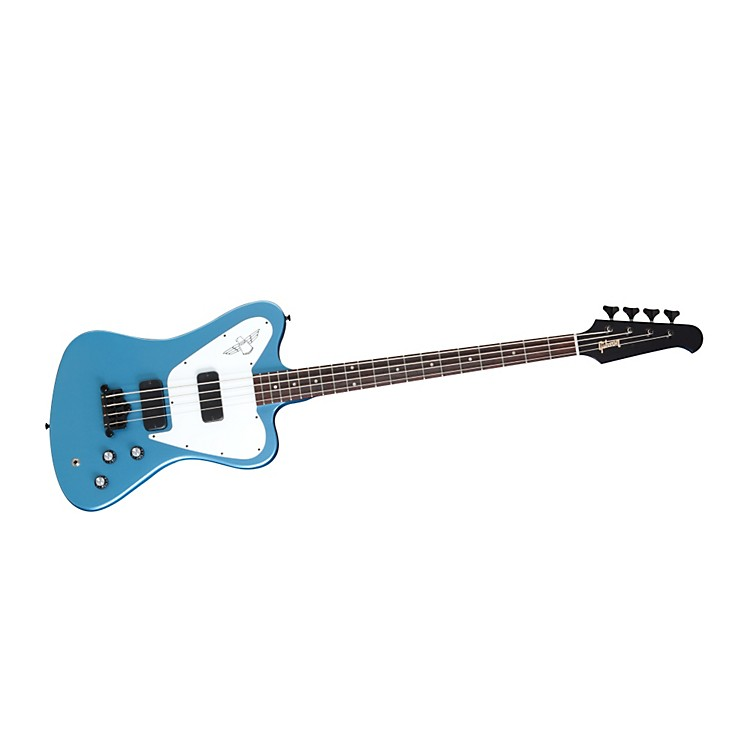 Gibson Thunderbird Non-Reverse Electric Bass Guitar Pelham Blue