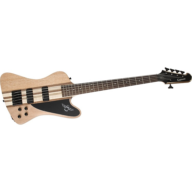 EpiphoneThunderbird Pro-V 5-string BassNatural Oil