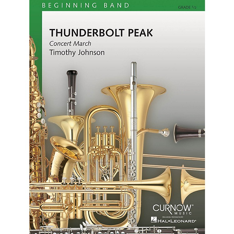 Curnow MusicThunderbolt Peak (Concert March) (Grade 0.5 - Score and Parts) Concert Band Level .5 by Timothy Johnson