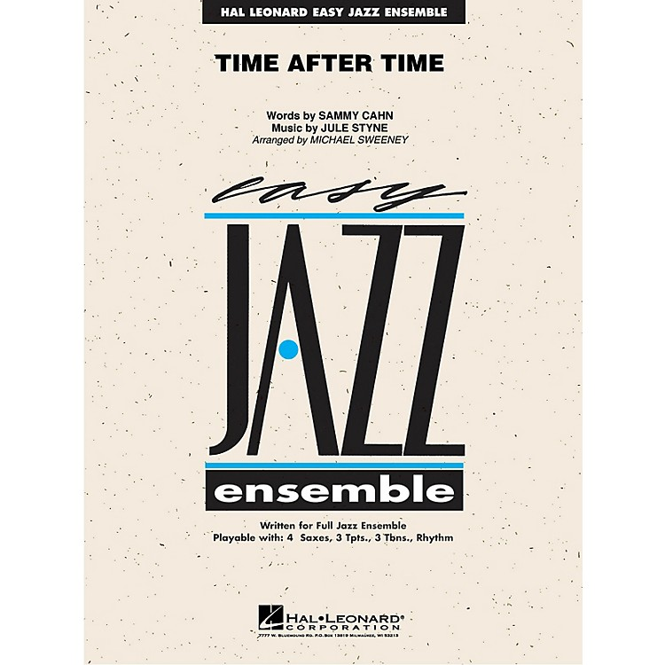 Hal LeonardTime After Time Jazz Band Level 2 Arranged by Michael Sweeney