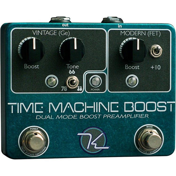 KeeleyTime Machine Boost Guitar Effects Pedal