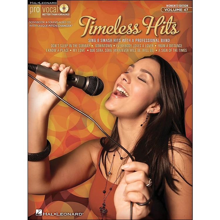 Hal LeonardTimeless Hits - Pro Vocal Songbook for Female Singers Volume 47 Book/CD
