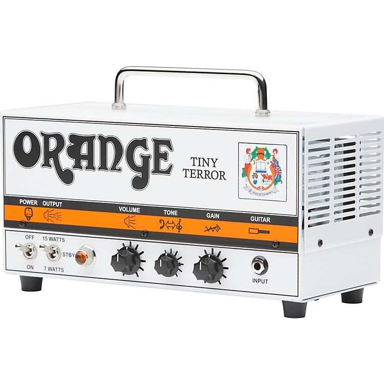 Orange Amplifiers Tiny Terror Series TT15 15W Tube Mini Amp Head White