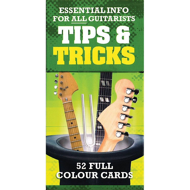 Music SalesTips And Tricks - Essential Info For All Guitarists 52 Full Color Cards