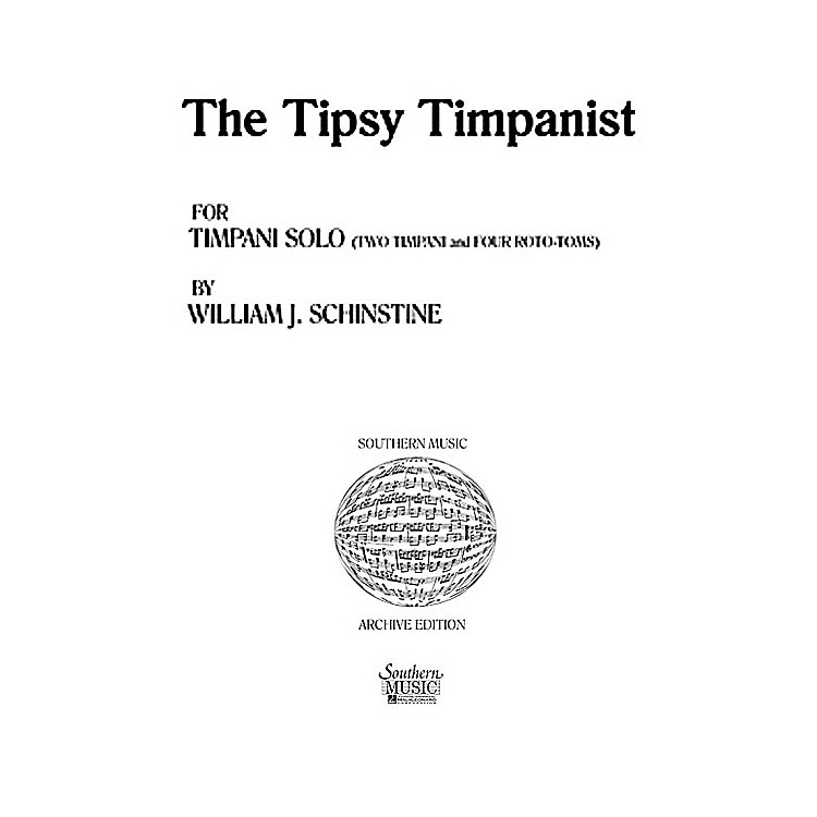 Hal LeonardTipsy Tympanist (Percussion Music/Timpani - Other Musi) Southern Music Series Composed by Spears, Jared