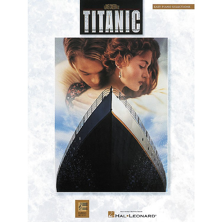 Hal Leonard Titanic Movie Selections For Easy Piano