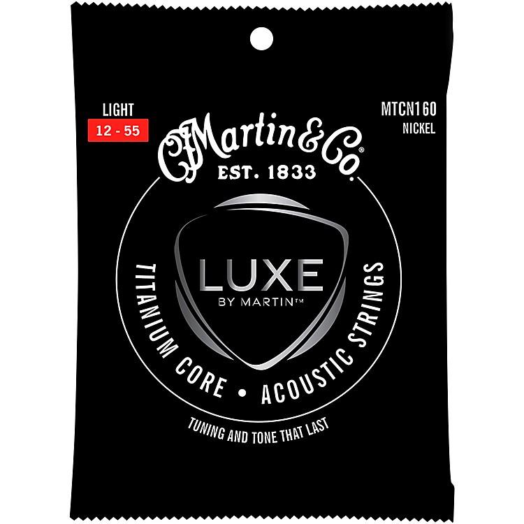 MartinTitanium Core Acoustic Guitar Strings Nickel Wrap Light Tension