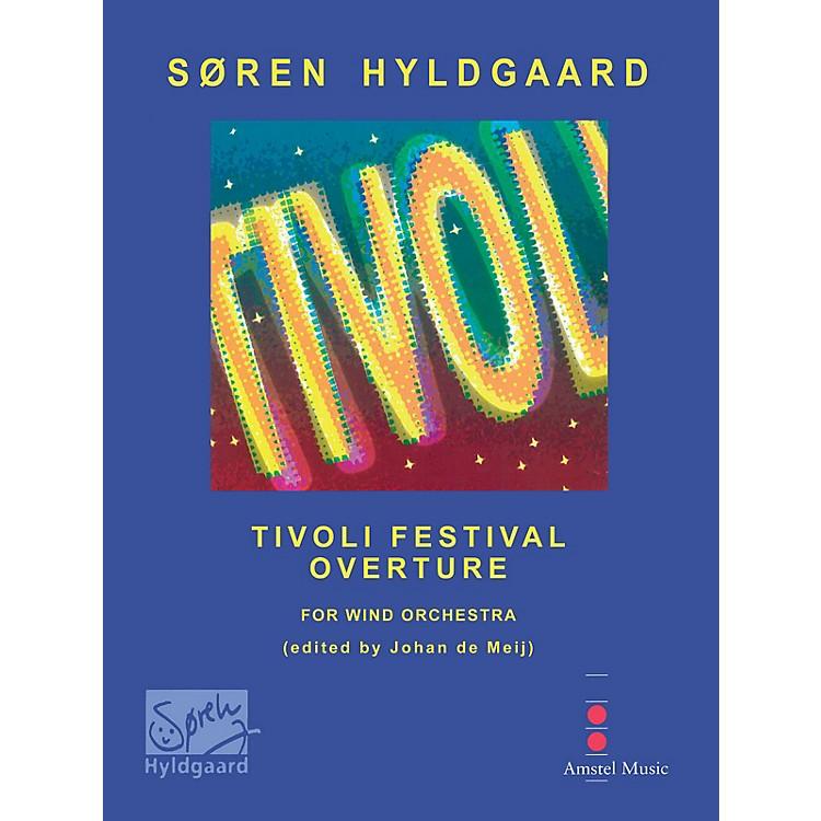 Amstel MusicTivoli Festival Overture (Score with CD) Concert Band Level 3-4 Composed by Soren Hyldgaard