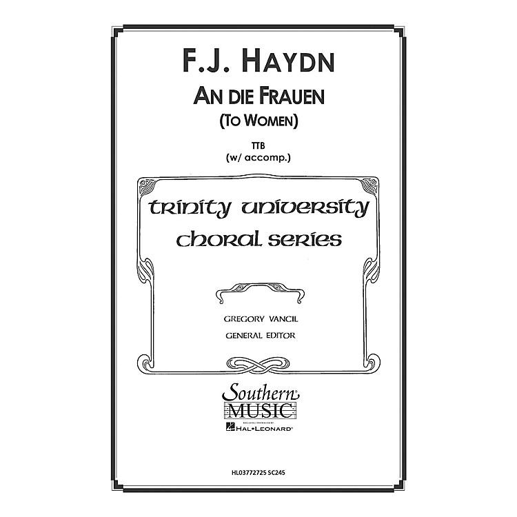 Hal LeonardTo Women ( An Die Frauen) (Choral Music/Octavo Secular Ttb) TTB Arranged by Gregory Vancil
