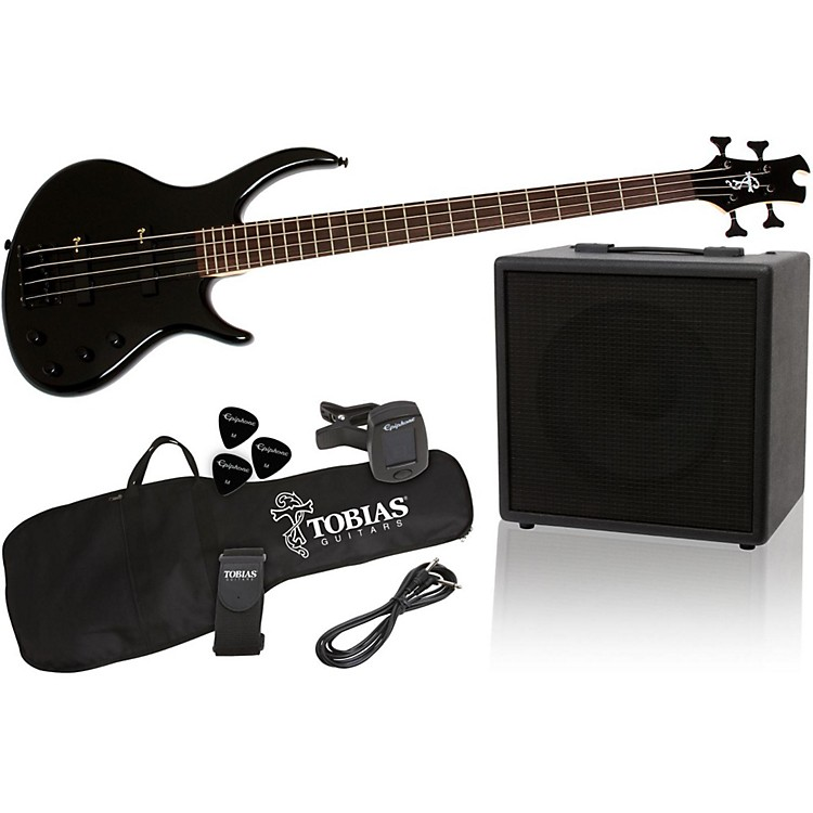 Tobias Toby Bass Performance Pack Ebony