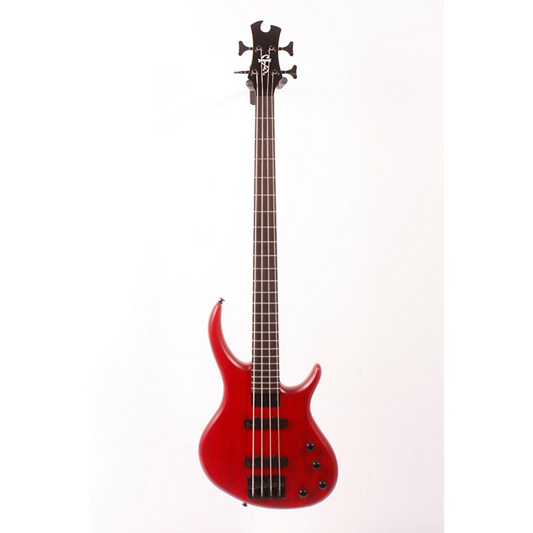 Tobias Toby Deluxe-IV Electric Bass Transparent Red 886830979552