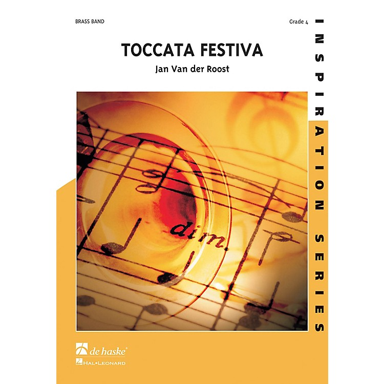 Hal Leonard Toccata Festiva Score Only Concert Band