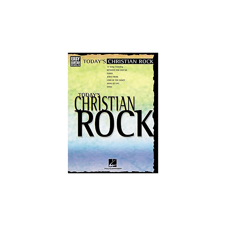 Hal LeonardToday's Christian Rock Easy Guitar Tab Book