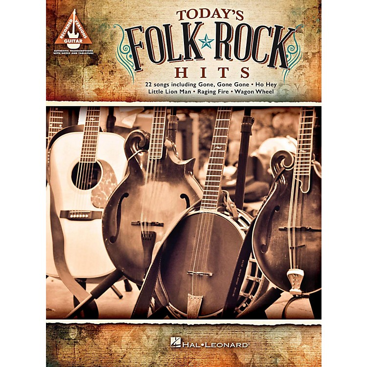 Hal LeonardToday's Folk Rock Hits Guitar Tab Songbook