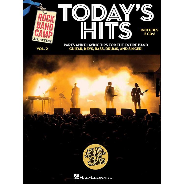 Hal LeonardToday's Hits - Rock Band Camp Vol. 2 (Book/2-CD Pack) Vocal, Guitar, Keys, Bass, Drums
