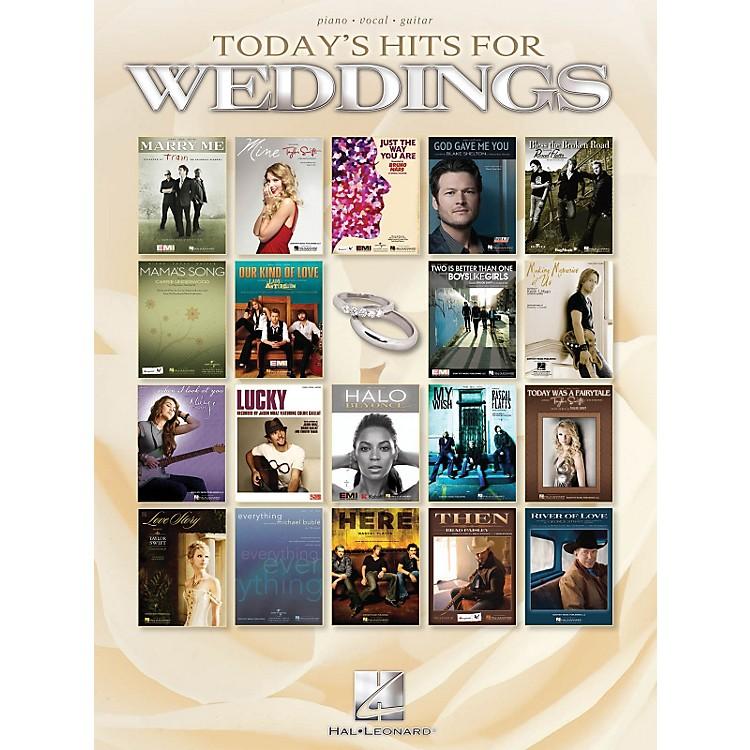 Hal LeonardToday's Hits For Weddings P/V/G Songbook