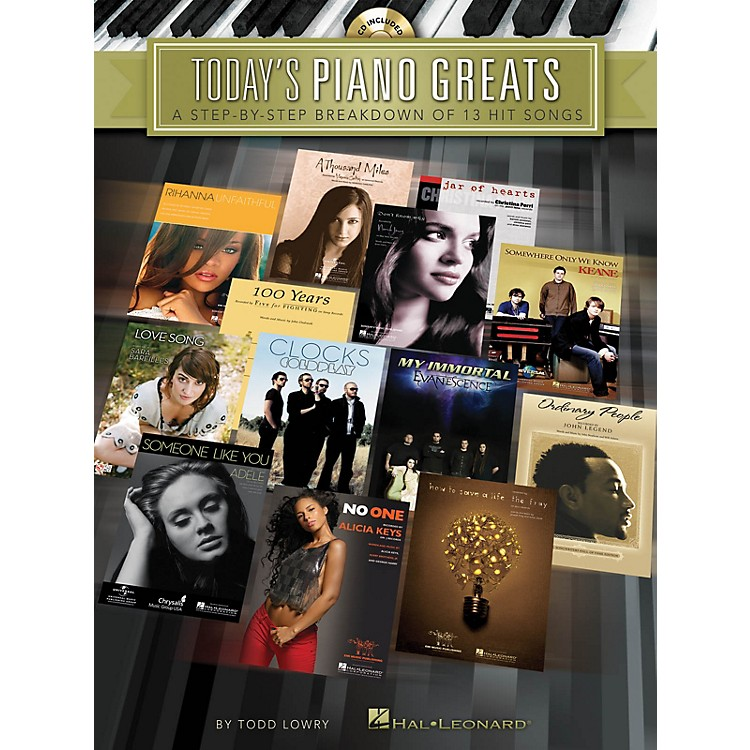 Hal LeonardToday's Piano Greats Piano Instruction Series Softcover with CD Written by Todd Lowry