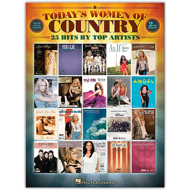 Hal LeonardToday's Women of Country Piano, Vocal, Guitar Songbook