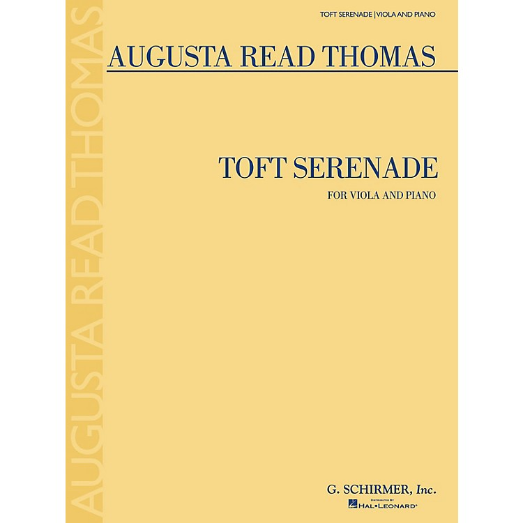 G. Schirmer Toft Serenade (Viola and Piano) String Series