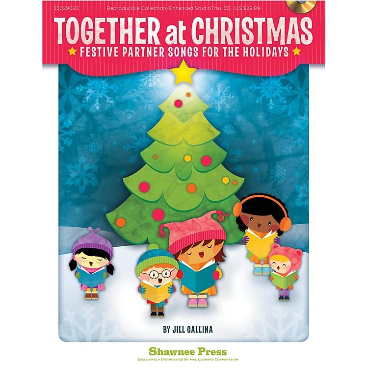 Hal LeonardTogether At Christmas - Festive Partner Songs For The Holidays Book/Listening CD
