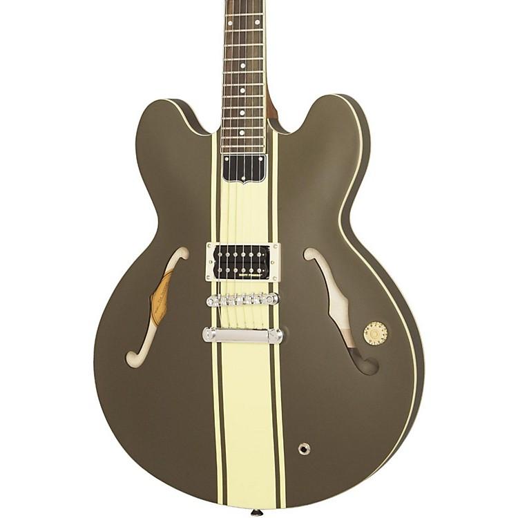 EpiphoneTom Delonge Signature ES-333 Semi-Hollow Electric GuitarBrown Stripe