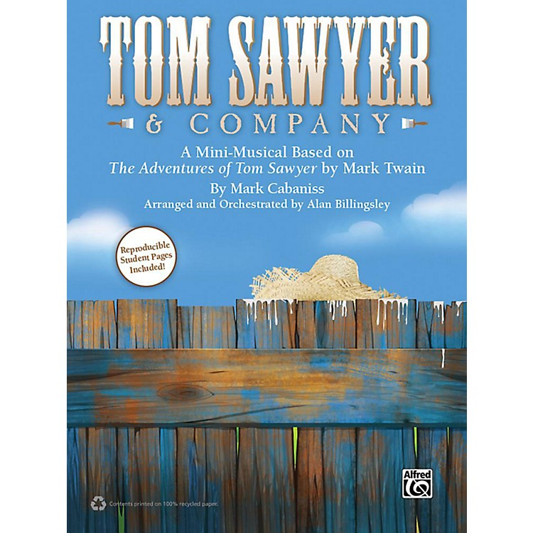 Alfred Tom Sawyer & Company Book & CD