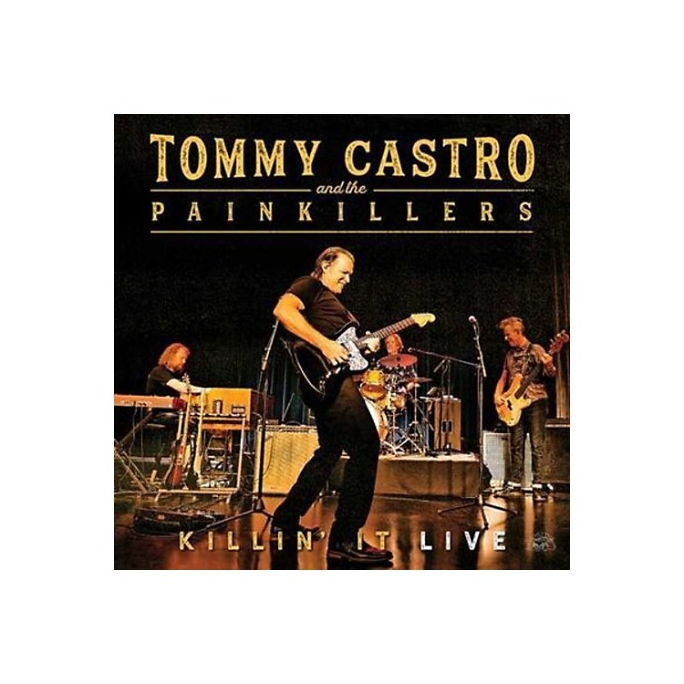 AllianceTommy Castro & the Painkillers - Killin' It Live (CD)